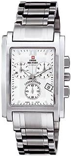Swiss Military - Reloj para Hombre Analógico de Cuarzo con Brazalete de Acero Inoxidable 20007ST-2M