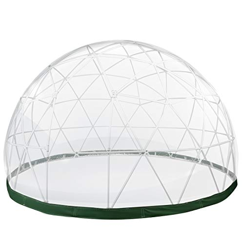 VEVOR Garten Iglu Bubble Zelt 12 Fuß Pavillon Kuppel Zelt PVC Zelt