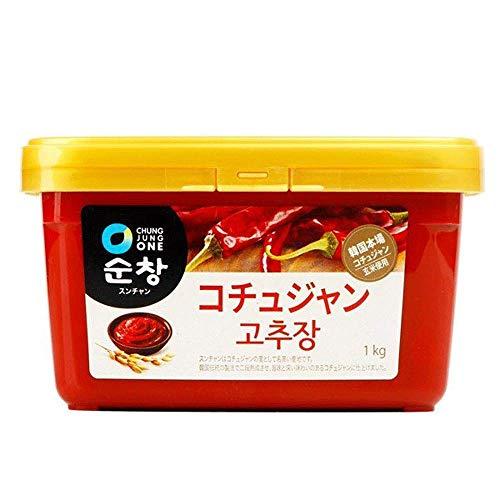 スンチャン コチュジャン 1kg 清浄園 | 韓国 唐辛子味噌 テンジャン カンジャン と並ぶ 韓国の伝統的な調味料