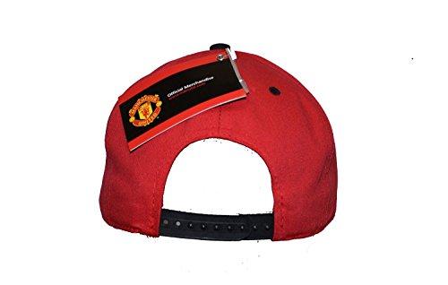 Manchester United Snapback Child Kids Adjustable Cap Hat - Red -Black-White New Season