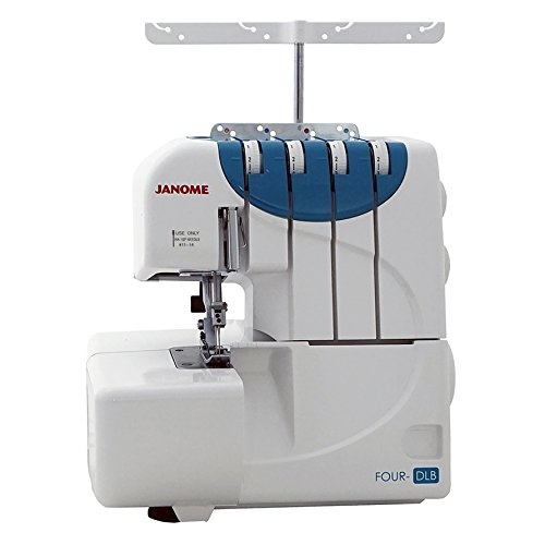 Cheap Janome 001FOUR-DLB Four DLB Sewing Machine, White