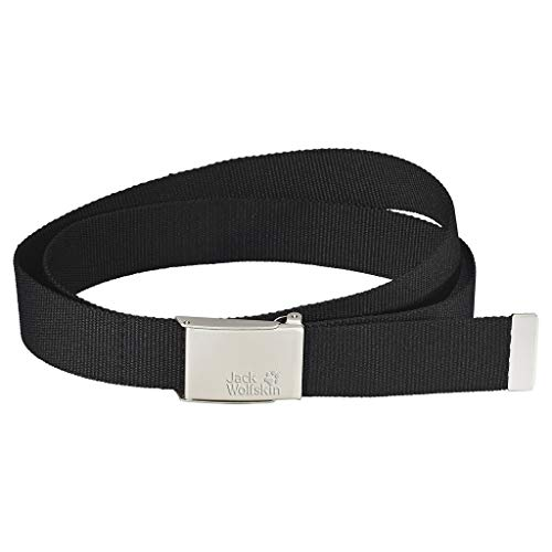 Jack Wolfskin Gürtel WEBBING BELT WIDE, black, ONE SIZE