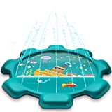 MeiGuiSha 75' Gear Outdoor Water Sprinkler Pad for Kids, Splash...