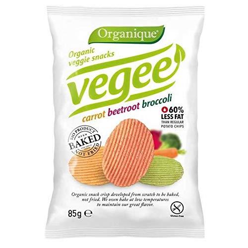 ORGANIQUE Chipsy warzywne wegetariańskie bezglutenowe (85g) - BIO