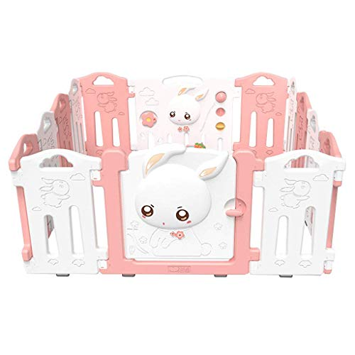 Relaxbx Barrière de Jeu intérieure pour Enfants 'S' Baby Baby Toddler Crawl Fence Home Safety Playground