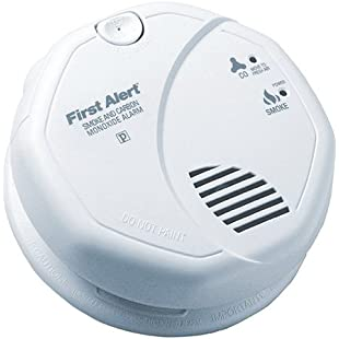 First Alert Carbon Monoxide Detector Photoelectric 120 V:Deepld