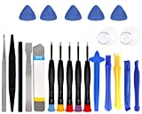 This repair tool set is a good fit for repairing various brands of mobile phones. Tools of various sizes can meet all needs, you can use them to meet your different needs. The screwdriver with non-slip handle which makes the screwdriver more convenie...