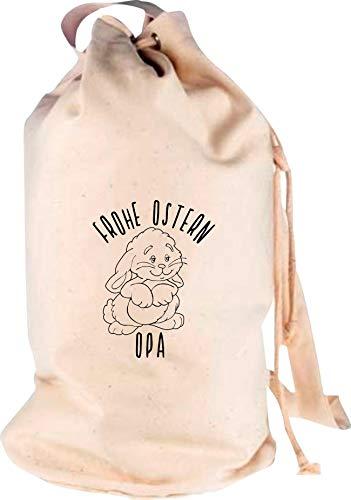 Shirtstown Sac à dos de voyage avec logo Opa, Adulte (unisexe), naturel, 30 cm x 53 cm x 30 cm