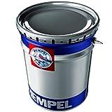 Hempel Speed-Dry Alkyd 43140 | Graue Metallfarbe für Stahl und Eisen | Metalllack RAL 7016 Rostschutzfarbe für innen und außen | 2 in 1 Grundierung und Metallschutzlack in Anthrazitgrau | matt
