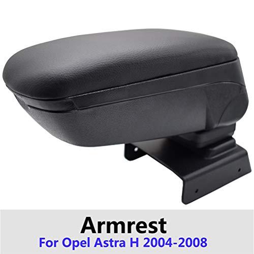 Caja del reposabrazos del coche para Astra H 2004-2014 Compartimento central deslizante Contenido superior Accesorios Compartimento