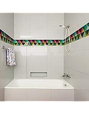 Gadgets Wrap Vinyl Colourful Wallpaper Borders, 3D Wall Borders Self Adhesive (60 cm X 5 cm, Multicolor)