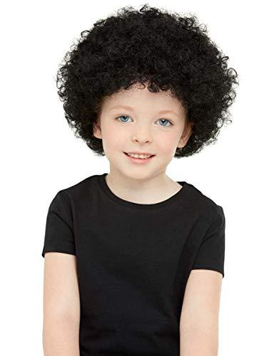 Funidelia | Peluca Afro para niño y niña ▶ Disco, Abba, Bee Gees, Accesorio para Disfraz, Peluca de 60 Gramos