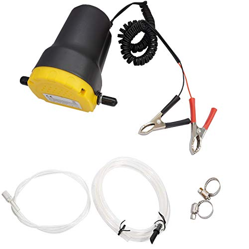 Twowinds - Ölabsaugpumpe Flüssigkeitsextraktionspumpe Motorölübertragung Ölpumpe 12V für Auto und Motorrad