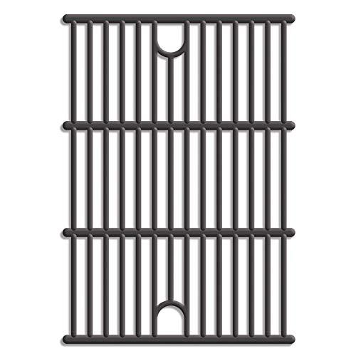Tepro Universal Gusseisen Grillrost 2-er Set auch passend für tepro 'Wellington' 3135, Ontario' 3135H und 'Calverton' 3147, Größe: 40.8 x 29.1 x 0.5 cm, schwarz, 8588