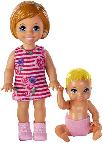 Barbie Mattel – GFL31 Skipper Babysitter Inc. – Mädchen mit Baby