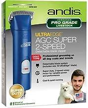 Andis UltraEdge AGC Super 2Speed Pet Clipper Blue