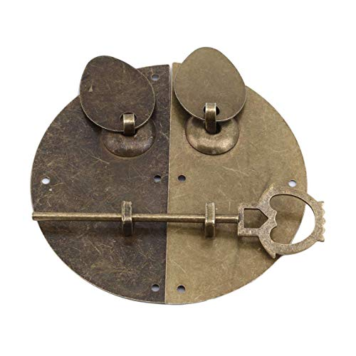 U-M PULABO Chinesische Möbel Griff Möbel Hardware Türklopfen Klopfer Pull Vintage Lock Catch Sehr Nützliche und Kreative Praktisch