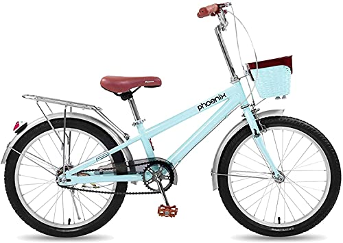 YAOJIA strider kids bike 20 Inch Children Cycling Bike For 9-13 Years Old Boys And Girls | Adjustable Seat Kids Bike Coaster Brake Bicycle (Color : Blue)
