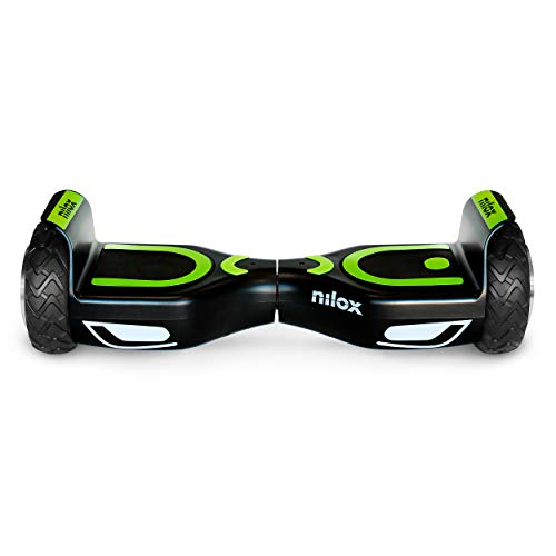 Nilox Doc 2 Hoverboard, Unisex Adulto, Nero, Taglia Unica