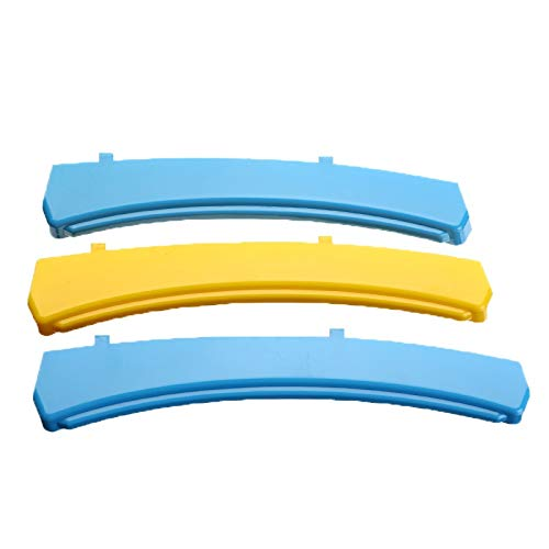 NO LOGO KF-Sticky 3Pcs Vorder Grill-Streifen M Net Dekoration Aufkleber Auto Trim-Abdeckung for Volvo V90 2017 2018 2019 Car-Styling