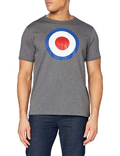Merc of London Ticket T-Shirt, Gris, M Homme