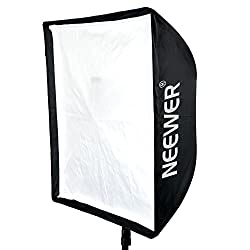 Neewer 28 inches x 28 inches/70 cm x 70 cm Speedlite, Studio Flash, Speedlight and Umbrella Softbox with Carrying Bag for Portrait or Product Photography