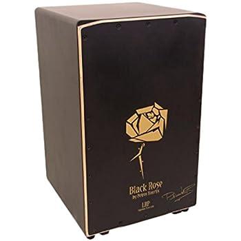 La Rosa 7M84 - Cajón flamenco con diseño de black rose: Amazon.es: Instrumentos musicales