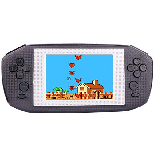 """Beico Handheld Games for Kids Adults 3.5"""" Large Screen Built in 416 Classic Retro Video Games Seniors Electronic Games Consoles Birthday Present (Black)"""