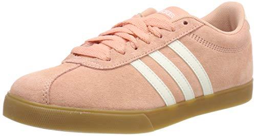 Adidas Courtset, Zapatillas de Deporte Mujer, Multicolor (Rospol/Blanub/Gum3 000), 38 EU