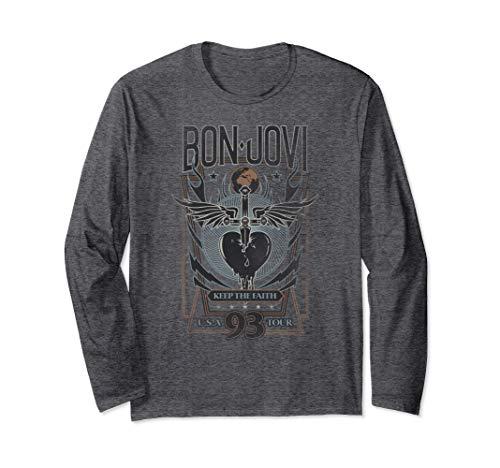 Bon Jovi Keep the Faith Long Sleeve T-Shirt, Unisex