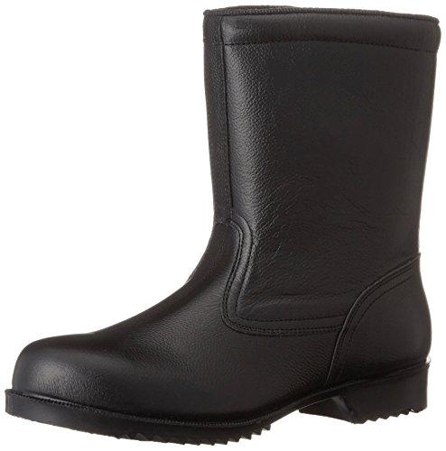[ミドリ安全] 安全靴 JIS規格 耐滑ゴム底 半長靴 V2400N 耐滑 メンズ ブラック 27.5