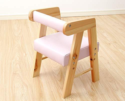 ロータイプキッズチェア【アニェラ-AGNELLA-】(キッズチェア椅子)ホワイト