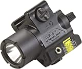 Streamlight 69240 TLR-4 Compact Rail Mounted Tactical Light with Laser Sight - 125 Lumens, Black