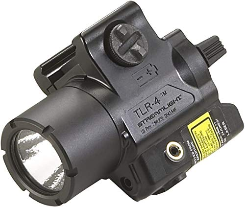 Streamlight 69240 TLR4 Compact Rail Mounted Tactical Light with Laser Sight  125 Lumens Black