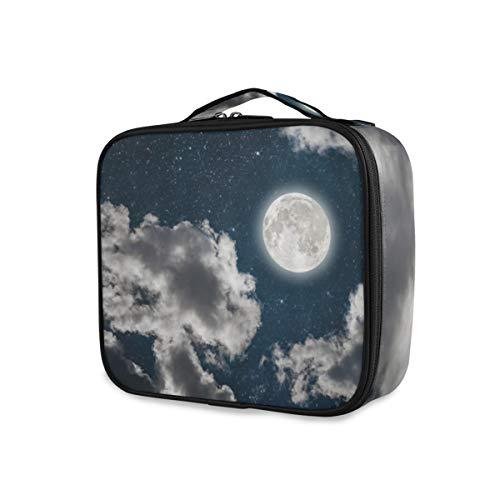 SUGARHE Traumnächtlicher Himmel Vollmond Stern Galaxie bewölkt schönes Universum...