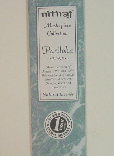 Pariloka (legno di sandalo, vaniglia e vetivert) - La collezione di incenso Nitiraj Masterpiece