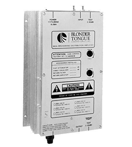 Best Bargain Blonder Tongue BIDA-86B-43P Broadband Indoor Distribution Amplifier 43 dB Gain 54-860MH...