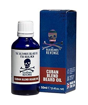 The Bluebeards Revenge Cuban Blend Beard Oil 50ml from The Bluebeards Revenge