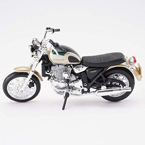 Motocicleta de juguete modelo de Triumph Thunderbird superficie de la carretera locomotora de simulación de aleación modelo de la motocicleta de colección del regalo del modelo de coche coche modelo k