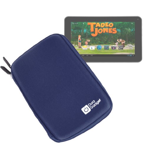 DURAGADGET Funda Azul Rígida con Cremallera para Tablet Bluesens Tadeo Jones