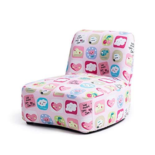 YULAN Eenvoudige en mooie kinderstoel baby kleine bank kleuterschool cartoon achterbank 2 kleuren 39.5 * 41 * 45cm