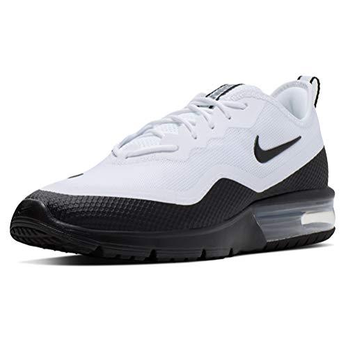 Nike Air Max Sequent 4.5, Scarpe da Trail Running Uomo, Bianco (White/Black 101), 43 EU