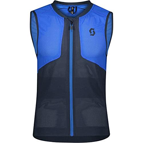 Scott M Airflex Light Protector Vest Blau, Herren Helme und Protektor, Größe L - Farbe Dark Blue - Skydive Blue