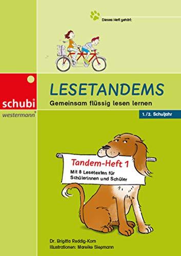 Lesetandems - Gemeinsam flüssig lesen lernen: Tandem-Heft 1 (1./2. Schuljahr)