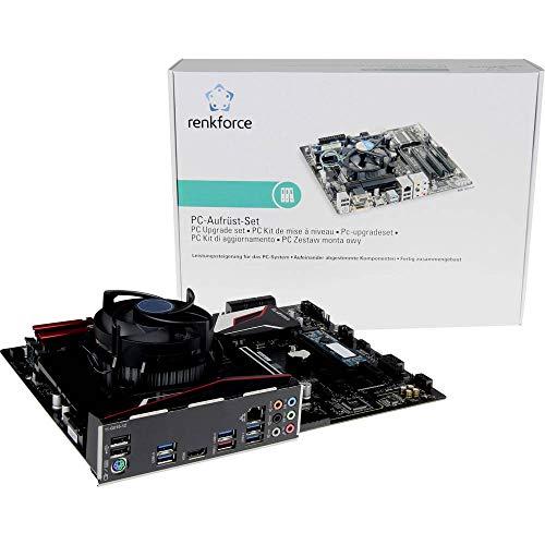 Renkforce, Kit Tuning para PC,Intel Core i5,I5-9600K (6x,3.7GHz) 16 GB, Intel UHD Graphics,630,ATX