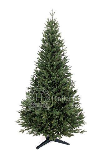 Original Hallerts® Spritzguss Weihnachtsbaum Bellister 150 cm als Nobilis Edeltanne - Christbaum zu 100% in Spritzguss PlasTip® Qualität - schwer entflammbar nach B1 Norm, Material TÜV und SGS geprüft - Premium Spritzgusstanne