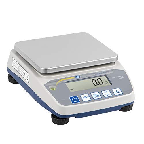 PCE Instruments Zählwaage PCE-BSH 10000, 10000 g / 0,2 g, Waage, Waagen, Zählfunktion, Batterie, Netz