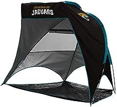 logobrands NFL Jacksonville Jaguars Unisex Retreat CabanaRetreat Cabana, Black, One Size