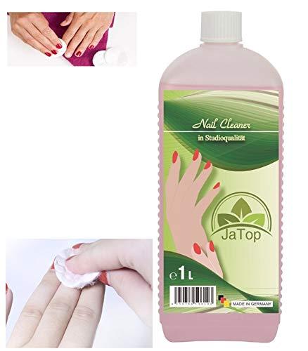 1000ml (1 Liter) Nailcleaner Spezial Fingernagelreiniger für die Gel Nagelmodellage in Studioqualität zum reinigen und entfetten