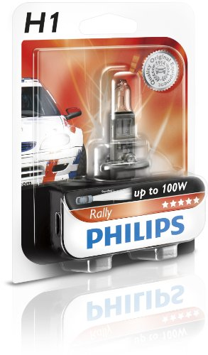 Philips 12454RAB1 Ampoule de phare H1 Rally sous blister